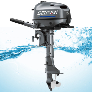 Seatan 4 stroke 5hp outboard motor with CE certificate