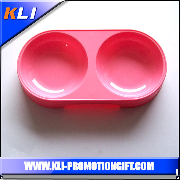 high quality big pet bowl round shape plastic dog bowls
