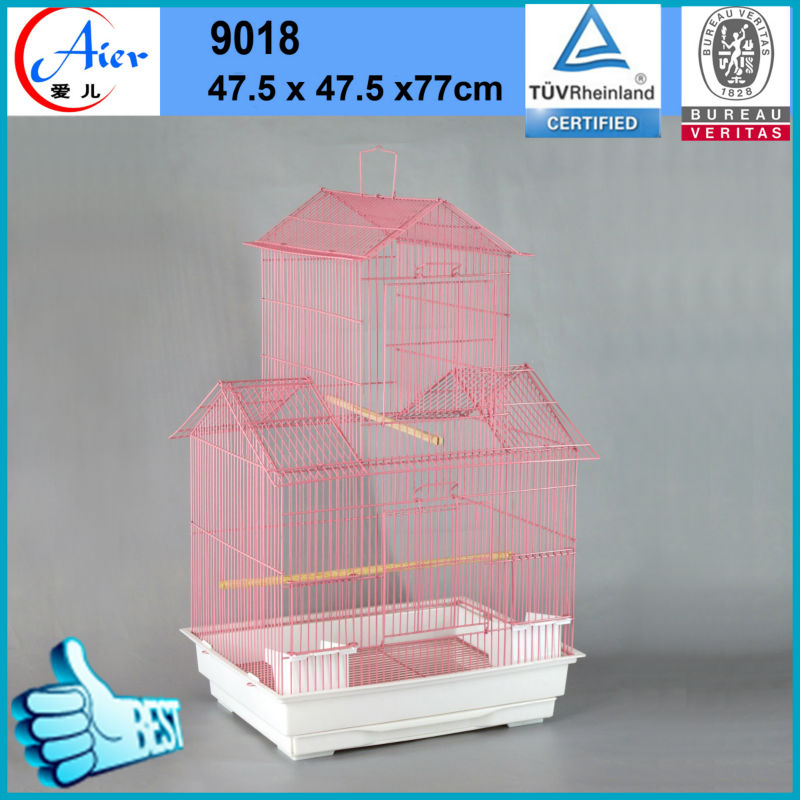 high quality metal bird cage with hooks