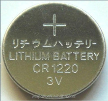 3V Lithium Primary Coin Type Battery Cr1220