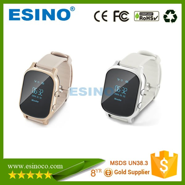 WIFI gps adult watch tracker, WIFI gps elderly watch tracker