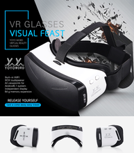 2016 Hot VR Box 3.0 3d Glasses Virtual Reality Helmet Video Glasses VR Glass CX-V5 All In One headset