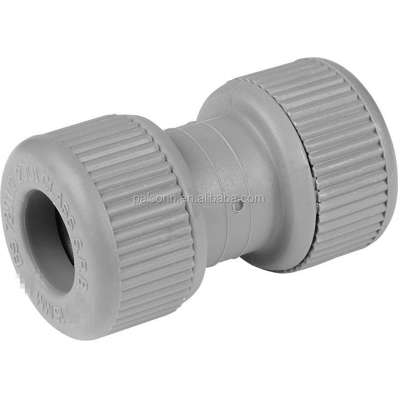 PB push fittings straight connectors 15mm 22mm 28mm