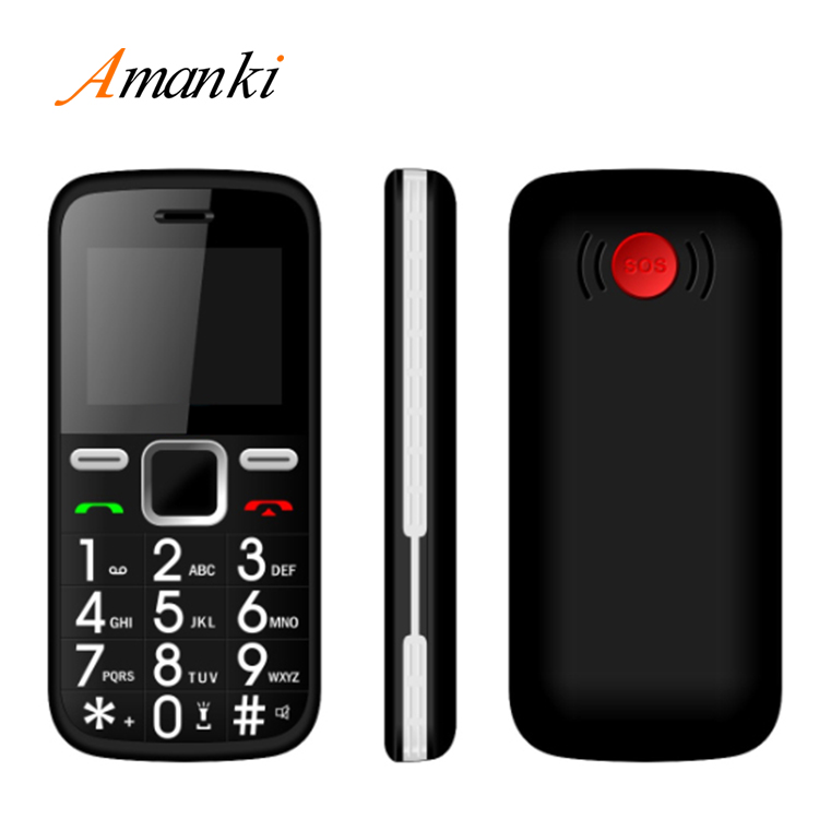 Amanki 1.77inch Daul SIM No Camera Mobile Phone Without Camera