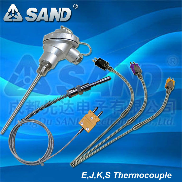 E,J,K,S type thermocouple manufacturer