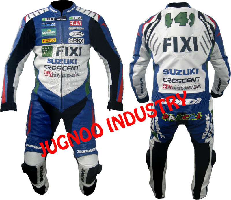 High Quality suzuki racing leather suit