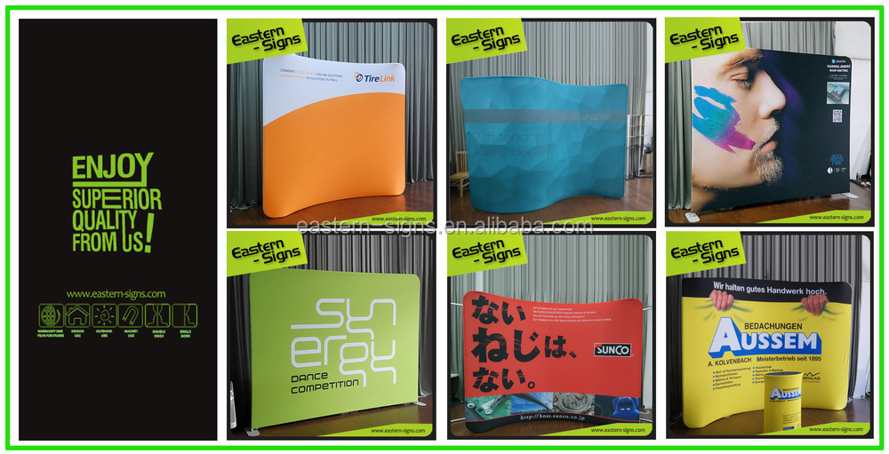 Tension Fabric Quick Banner Display System