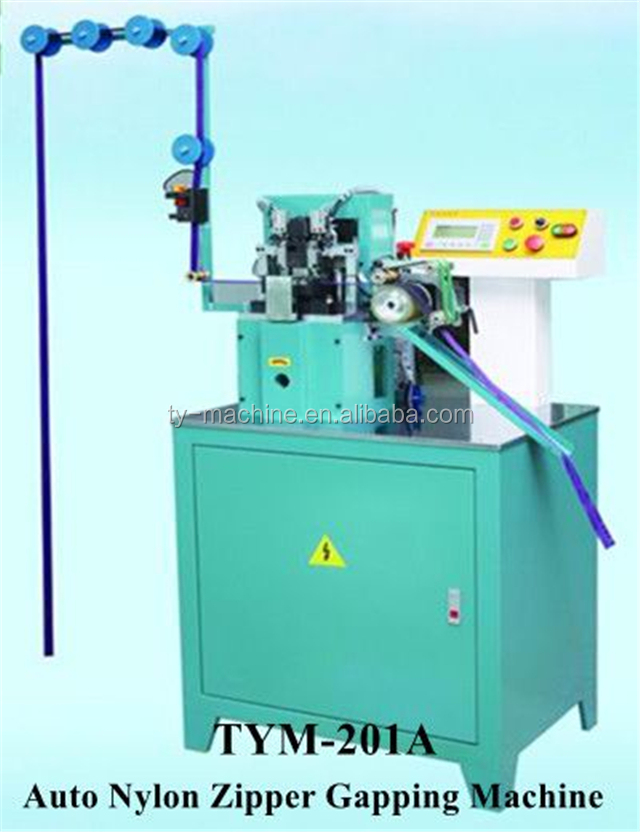 New Automatic Gapping Stripping Nylon Zipper Making Machine