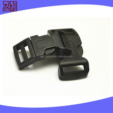 flat plastic backpack buckle ,flat plastic buckle,plastic dog collar buckle for bag