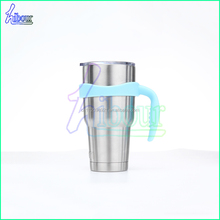 Blue Handle for Vacuum Cup 30 oz Ozark Trail and Other 30 oz Tumblers. Newest Single Loop Handle for Stainless Steel Tumble