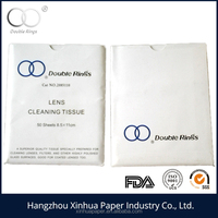Softy paper and high quality lens cleaning tissue glass cleaning paper