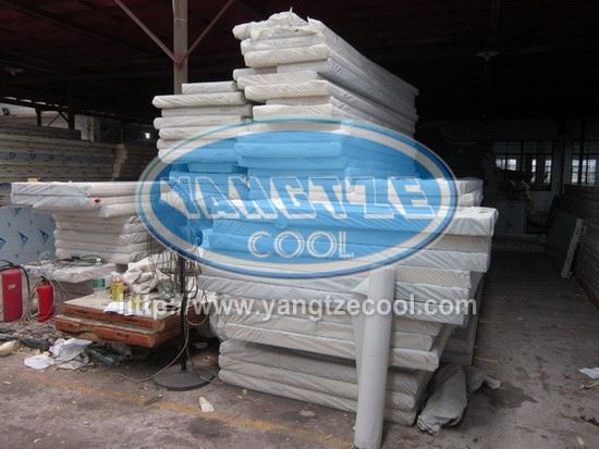 PU Paneles Sandwich panel for roof for yangtzecool cold room