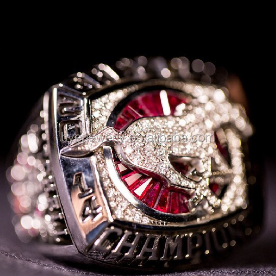 Custom sports Championship rings, replica grey cup championship ring for football players