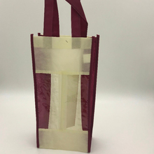 Non-woven Promotional Two-bottle Wine Bag