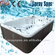 large massage party spa SW-35A water fountain water massage jets smart 10 person outdoor spa