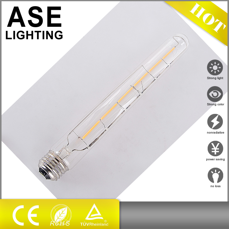 2016 new product E26 E27 8w T30 led filament bulb