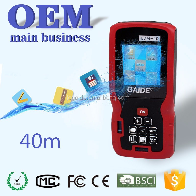 OEM small size lcd display cheap price point to point laser measure