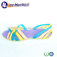 Fashion flat summer sandals 2014, Shoe Manufacturer Summer Cool Lady Sandal