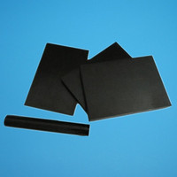 virgin material black 3mm teflon sheet