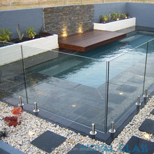 10mm 12mm swimming pool fence laminated tempered glass