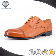 latest design mens Italian leather dress shoes rubber shoes for men