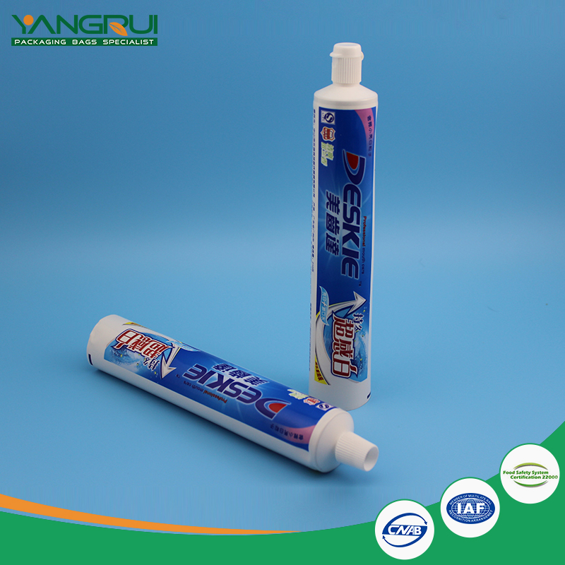 New Laminated film manufacturers wholesale ABL aluminium pe plastic empty toothpaste tube packaging