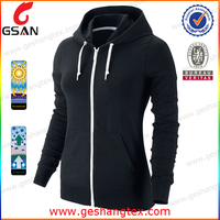 Fitness apparel high quality women running jacket black yoga jacket