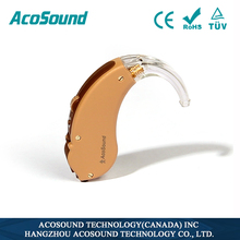 China Brand Cheap Aid AcoSound Acomate 610 BTE hearing aid ear tips