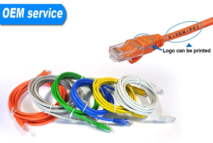Hot Sell 24AWG Cat5e UTP Patch Cord Fiber Optic Patch Cord