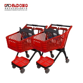 High Quality Shopping Trolley Basket Cost of Shopping Trolley Market Holder Trolley