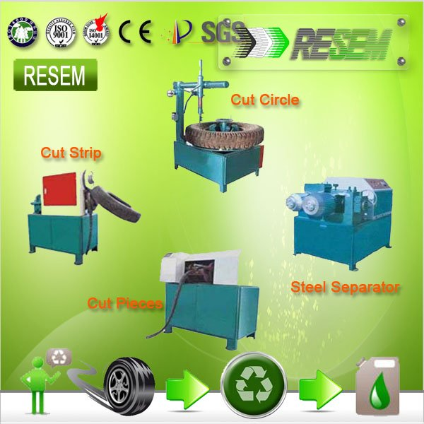 RESEM <strong>Scrap</strong> Tyre Cutting Machine