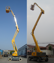 manual boom lift towable boom lift genie boom lift