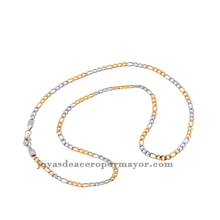 new fashion 14k gold plated neck chain design for men stainless steel jewelry necklace for pendant