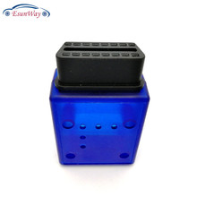 OBD 16Pin Enclosure OBD Cover with J 1962 OBD2 Female Terminal Connector Female Socket