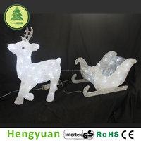 43CM Light up Reindeer Outdoor Christmas Decoration