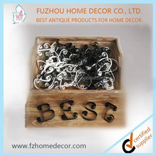 Small metal alphabet letters for crafts with good price
