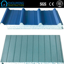 New EPS/rock wool sandwich panel prefabricated container building