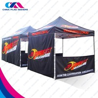 outdoor promotional trade show canopy custom tent