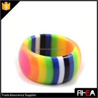 Korean Candy Color Baby Kid Acrylic Ring