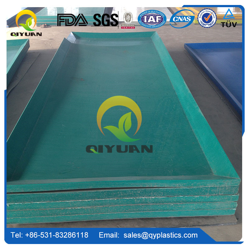 Low water absorption uhmwpe plastic sheet and hdpe sheet