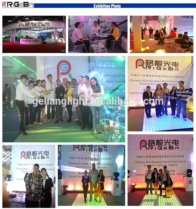 Top infinite tunnel mirror full color lighting led 3D dance floor for wedding party event