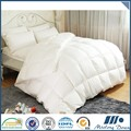 Comfortable 300TC 100% Cotton White Duck Down Bed Quilt