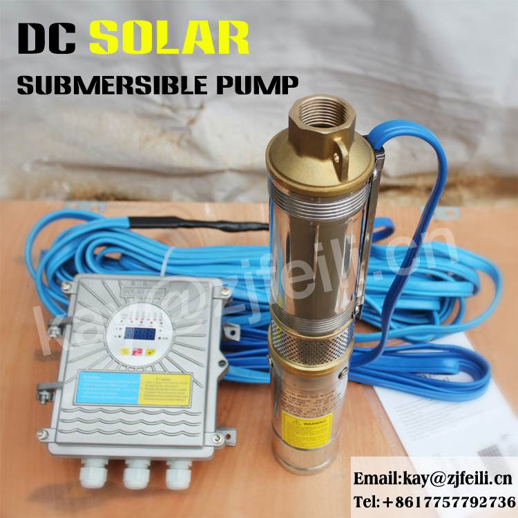 feili solar pump Exported to 58 Countries 48v solar submersible pump solar pompa