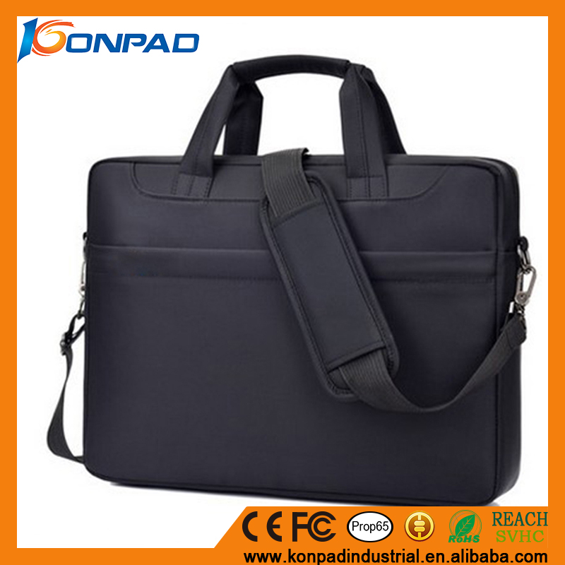 Custom nylon laptop bags fashion computer bag carrying case 17.3-15.6 inch laptop briefcase bag