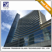 Australian Standard Building Tempered Laminated Glass For Curtain Wall Glass