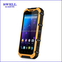 A9 rugged smartphone with NFC function 4.3inch android4.4 MTK6582 rugged phone pear phone cell phone