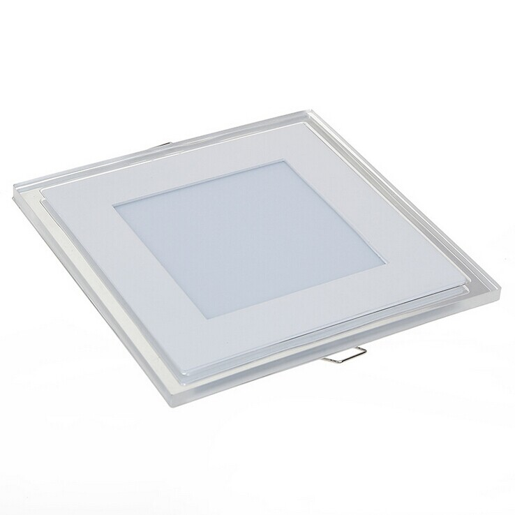 Wholesale 18W glass ceiling <strong>led</strong> square panel lights IP44