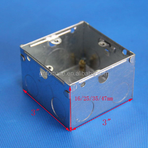 copper earthing rod galvanised explosion proof box