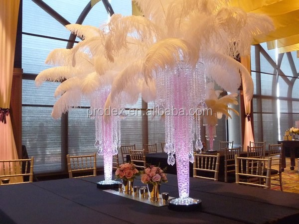 wedding decoration party decoration white ostrich feather