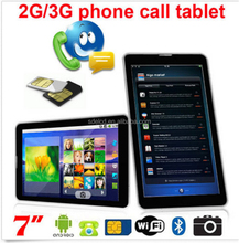 "7"" Android 4.4 Tablet PC, dual Core Phablet GSM 3G Phone FREE 32GB microSD Unlocked"